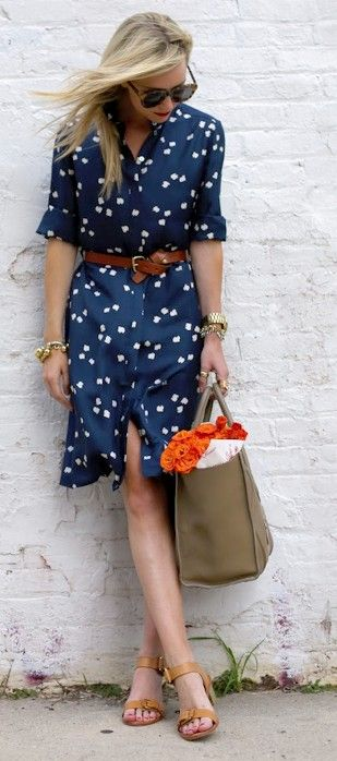Cute Weekend Summer Dress Look Street Style Outfit