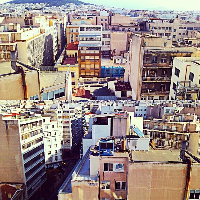 Instagram @lelazivanovic. Hotel Dorria Inn, Athens.