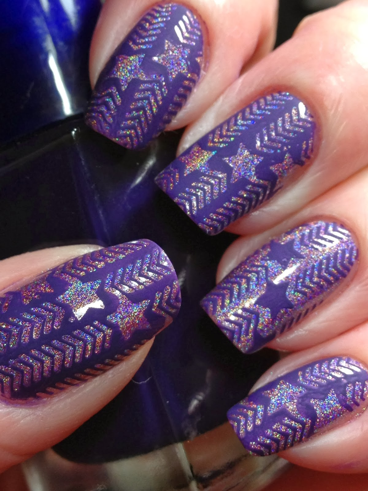 canadian nail fanatic  ds original and infinity 37