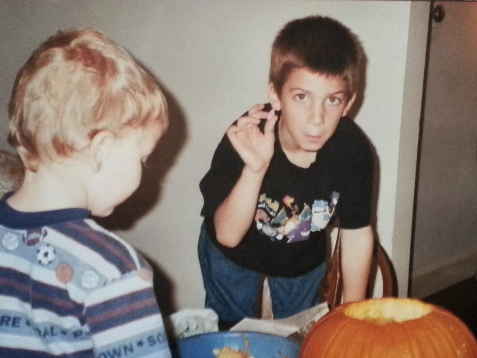 Childhood Pumpkin Carving Memories | Navigating Hectivity by Micki Bare