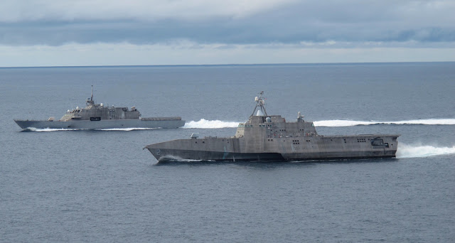 USS Freedom (LCS-1) and USS Independence (LCS-2)