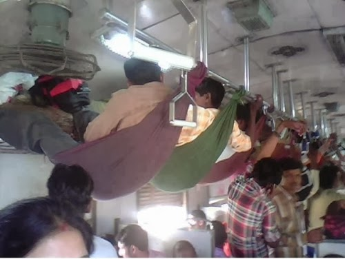 Indian Jugaad In Train