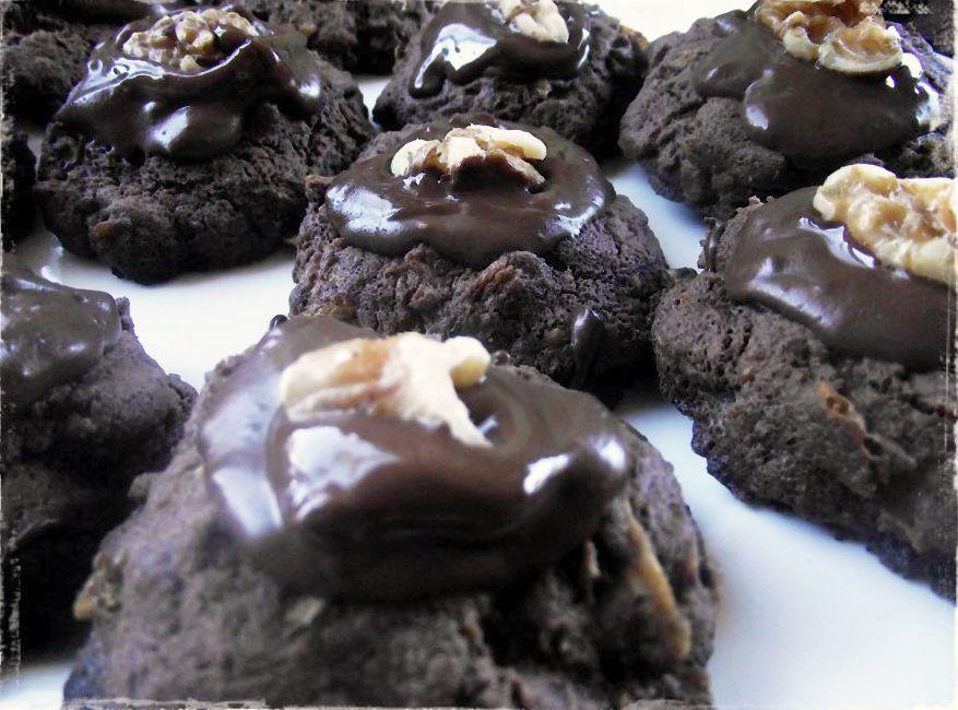 Gluten free Chocolate afghan cookies