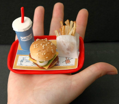Smaller Portion Sizes At Fast Food