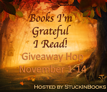 Enter the BOOKS I'M GRATEFUL I'VE READ Blog Hop! To 11-14!