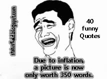 funny inflation quote joke picture