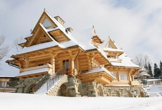 Oko Design Blog Natural Wooden House In Poland
