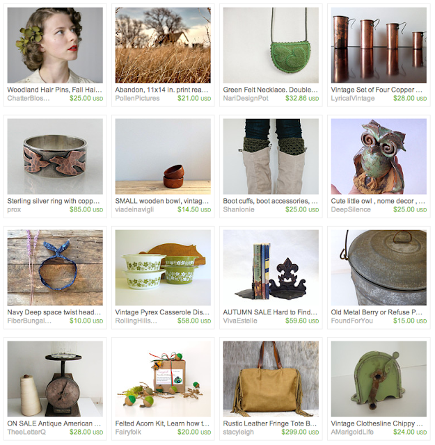 Homestead Gift Guide on Etsy #homestead #vintage #gifts