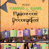 Mini Canvas & Easel Halloween Decoration