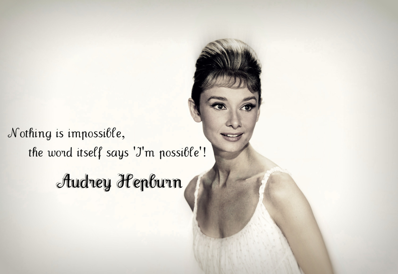 HorribleBosses: Audrey Hepburn Tips