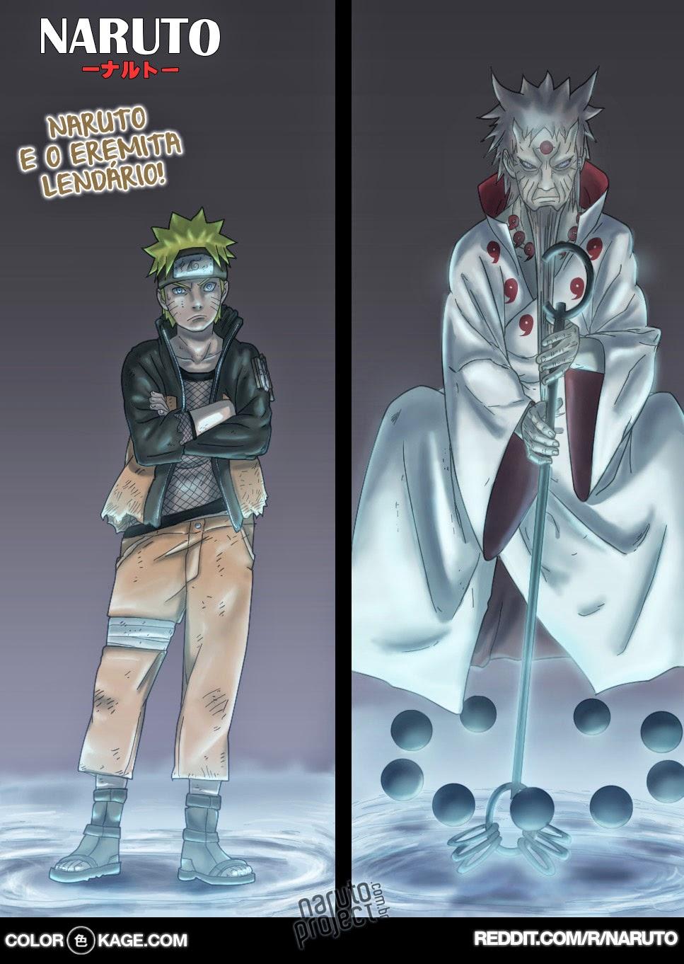 Naruto 671 Mangá Colorido