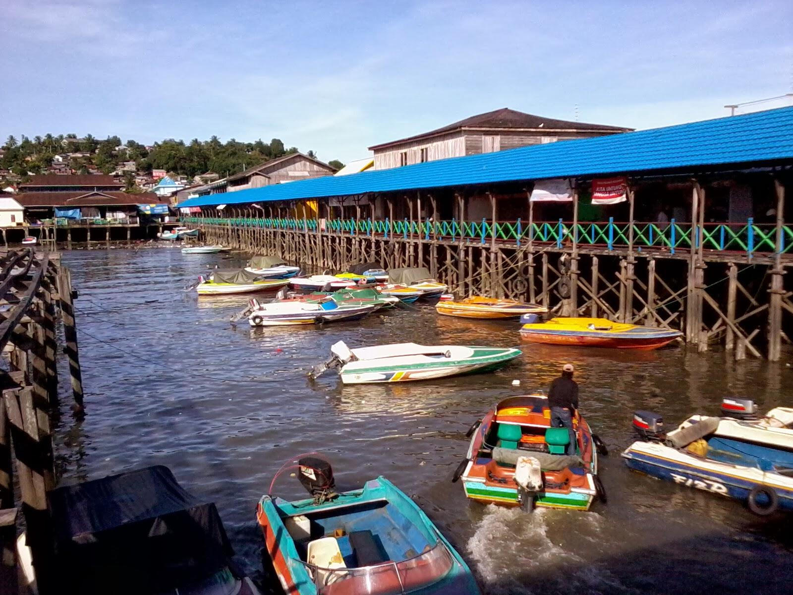 Kampung Atas Air Suku Bugis Kota Balikpapan| Informasi ...
