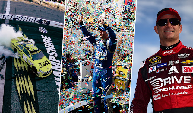 Matt Kenseth, Jimmie Johnson and Jeff Gordon all have reasons to smile at Dover