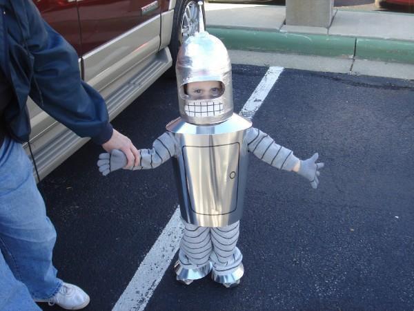 Disfraz creativo: Bender