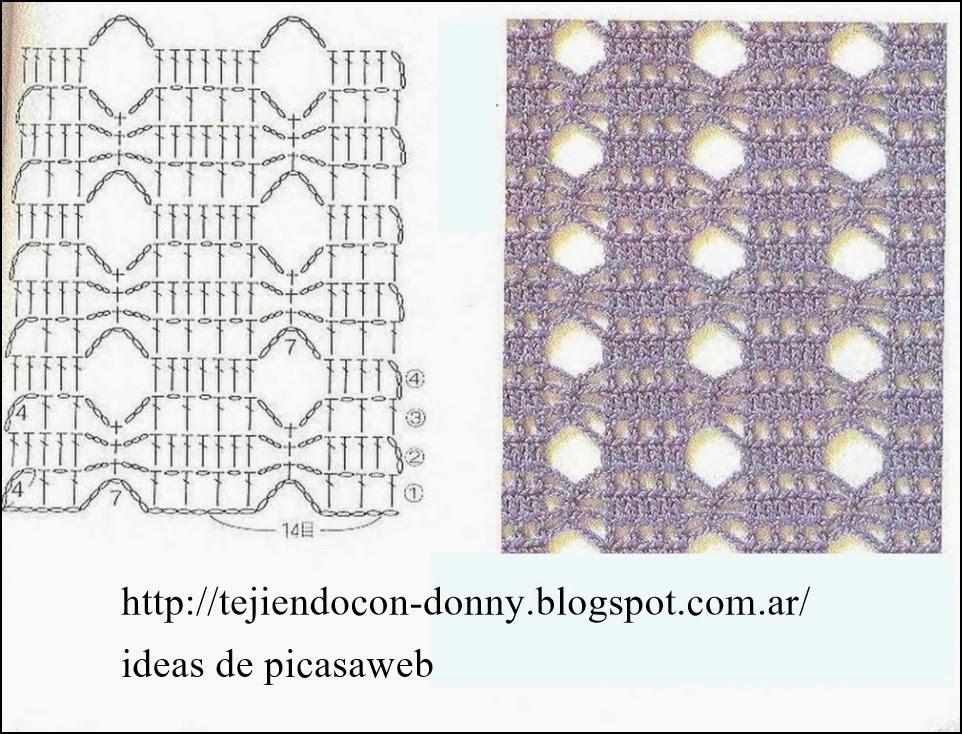 Magnífico Patrones De Crochet Libre Embellecimiento - Manta de Tejer ...
