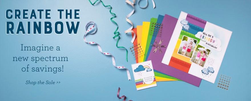 Create the Rainbow - Imagine a New Spectrum of Savings at Heatherplotzke.ctmh.com