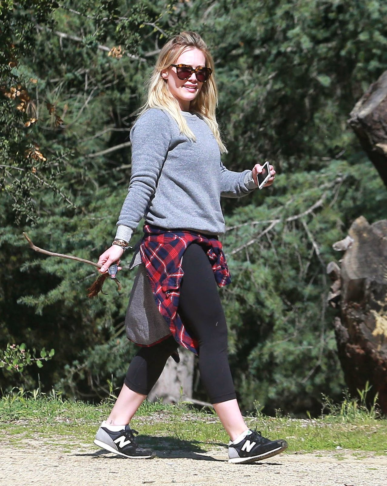 Singer, Actress @ Hilary Duff - TreePeople Park In Beverly Hills