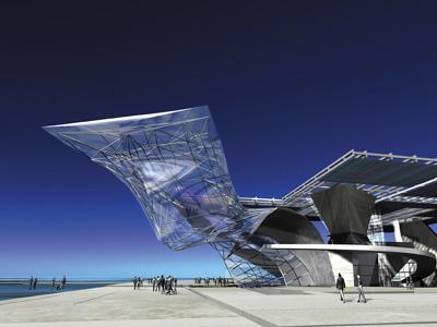 R serve d 39 inspirations le design architectural de coop for Architecture deconstructiviste