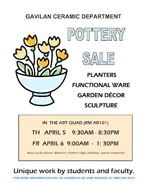 ceramics flyer