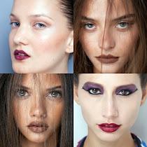 Tendências de maquiagem inverno