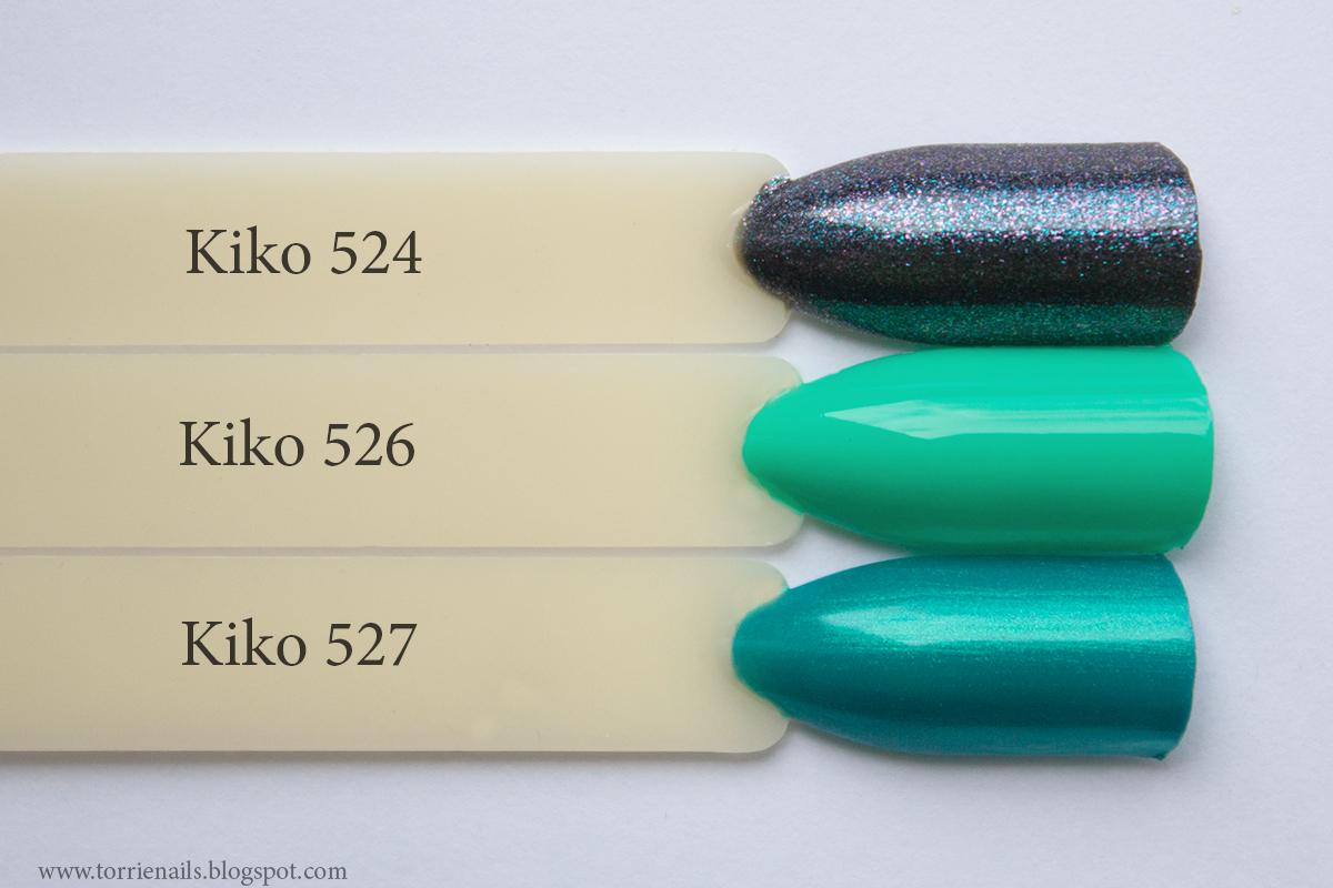 Kiko 524 Kiko 526 Kiko 527