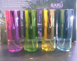 BOTOL SPRAY TABUNG WARNA KACA 20ML