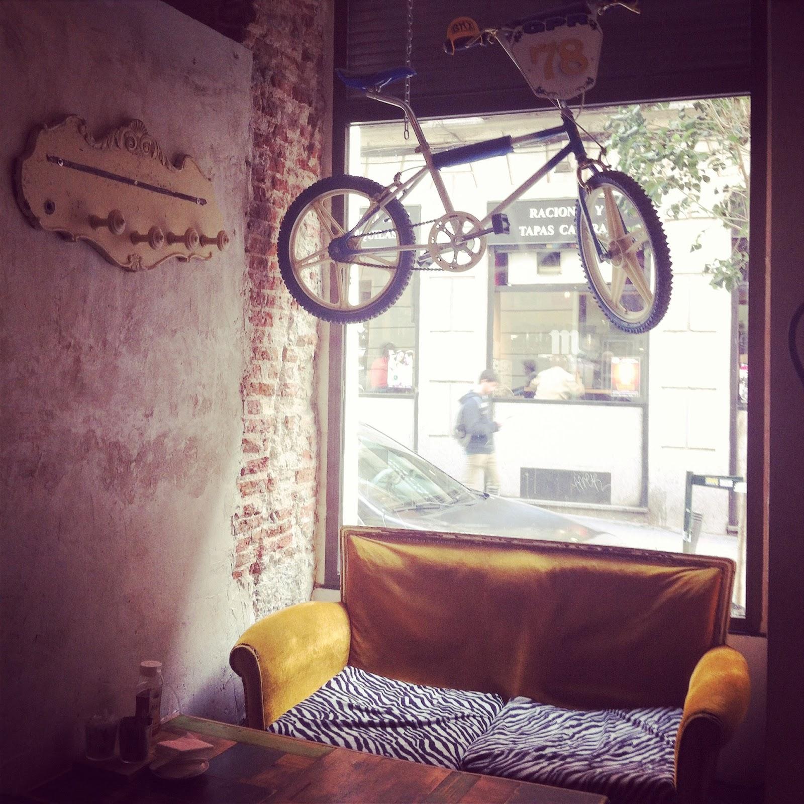 Cafetería Madrid - La Bicicleta café
