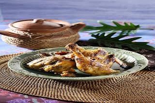 Ayam Bumbu Pacah Khas Riau