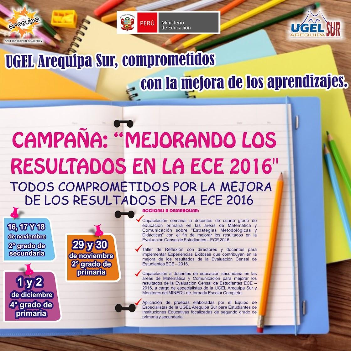 CAMPAÑA ECE 2016