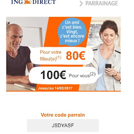 Gagnez 80€ en 3 clics!