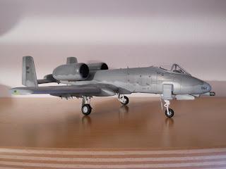 maqueta de aviones A-10 Thunderbolt II
