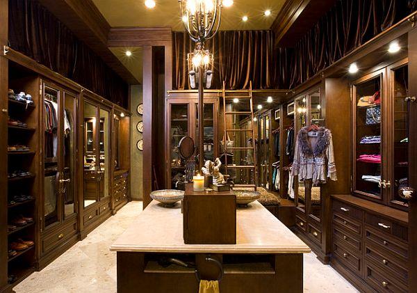 Diseño de Closets de Lujo : Casas Decoracion