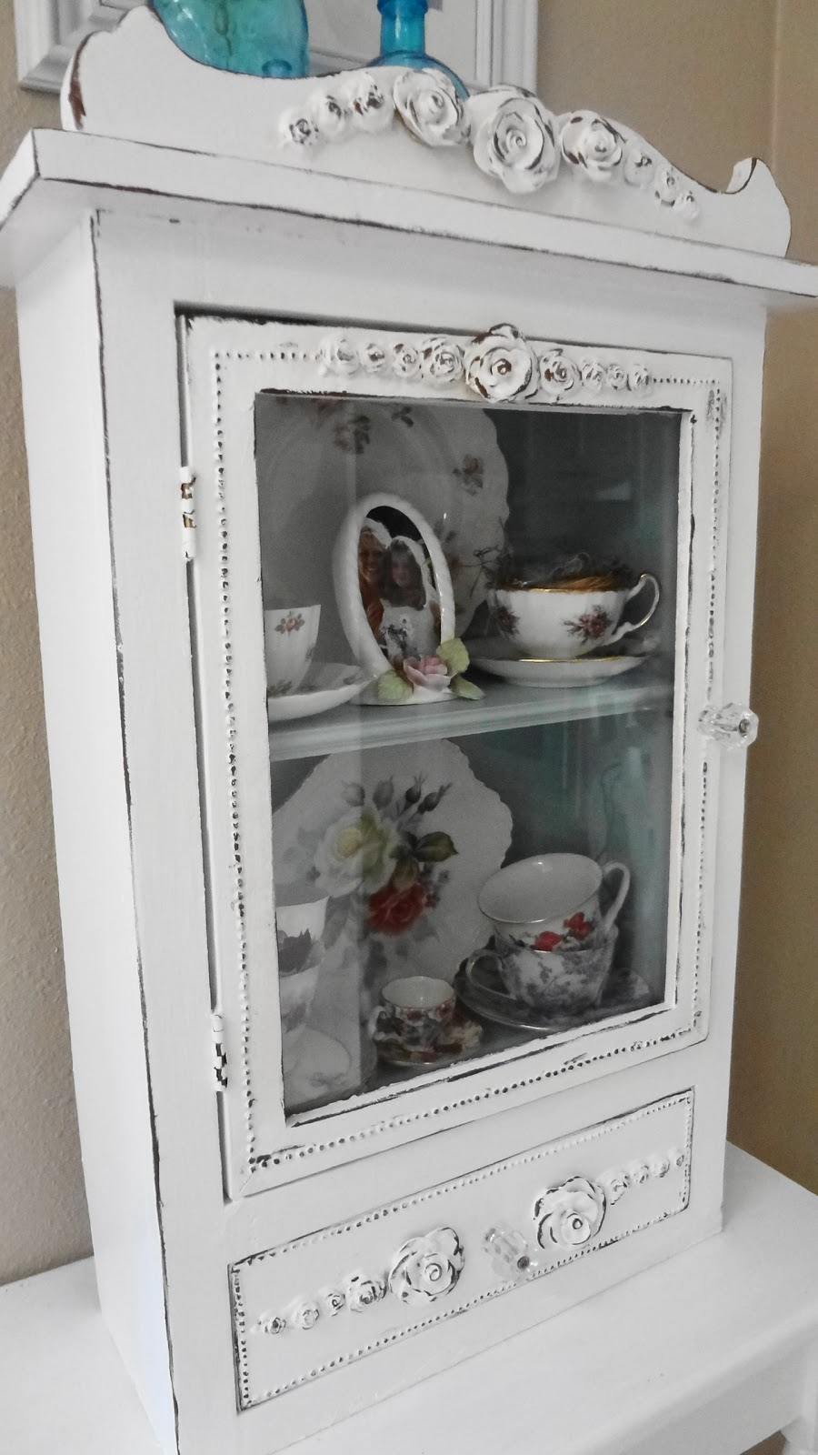 For the love of white: My Teacup Cupboard