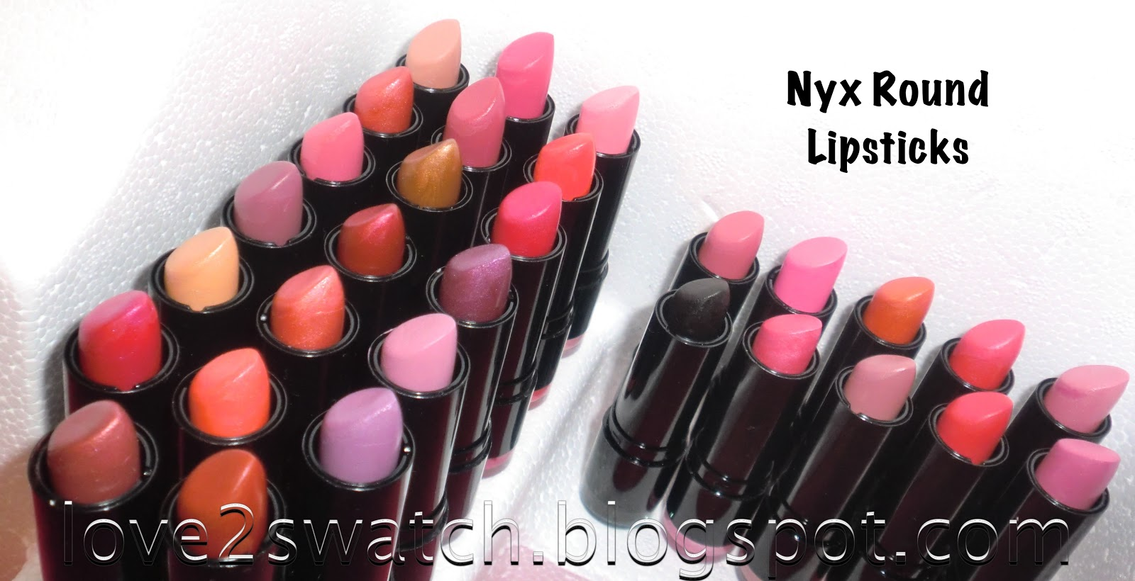 Nyx Castle Cosmetics Round Lipstick 601 Lips Smacking Fun Color Lss Swatches