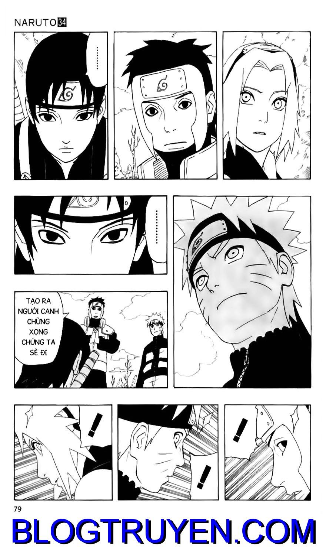 Naruto chap 304 Trang 3 - Mangak.info