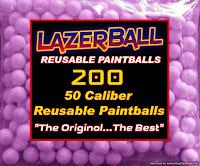 Splatmaster Reusable Paintless Paintballs