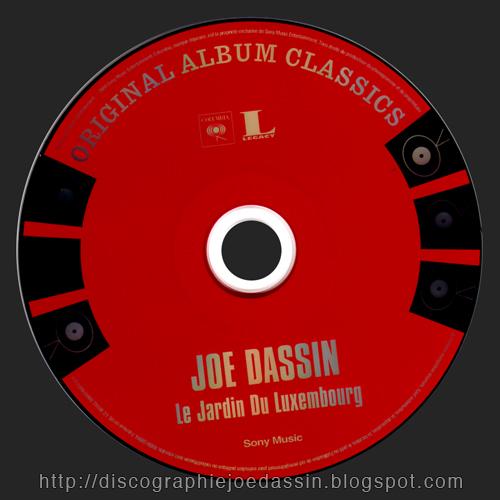 Blue country la discographie de joe dassin cd coffret columbia 2009 original album classics - Joe dassin le jardin du luxembourg ...