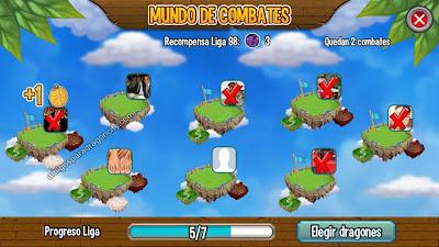 imagen del mundo combates de dragon city para ipad y iphone