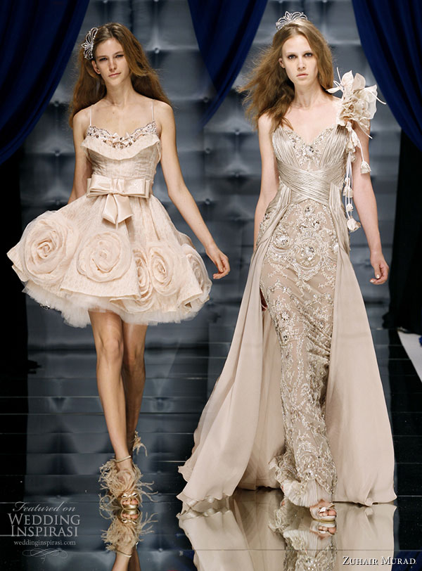 A new favorite on CoutureFall 2011 the nude, lace and skin tone trends, Fashion, Fashion Collection, Gown, Zuhair Murad, Zuhair Murad fashion collection, Zuhair Murad Dress, Zuhair Murad Gown, Zuhair Murad Bridal Gown, Zuhair Murad inspiration, Zuhair Murad Runway, Zuhair Murad Creations , Couture