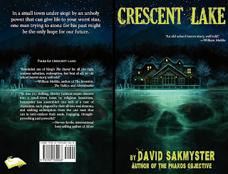 lukas thelin, crescent lake, cover, horror art