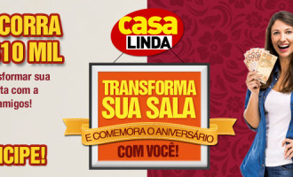 Participar promoção Aniversário Revista Casa Linda