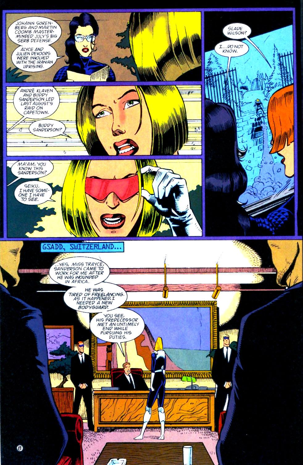 Deathstroke (1991) Issue #56 #61 - English 9