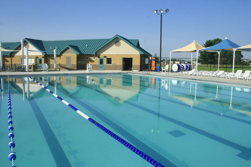 P J Hoerr Inc Morton Park District Swimming Pool Morton Il
