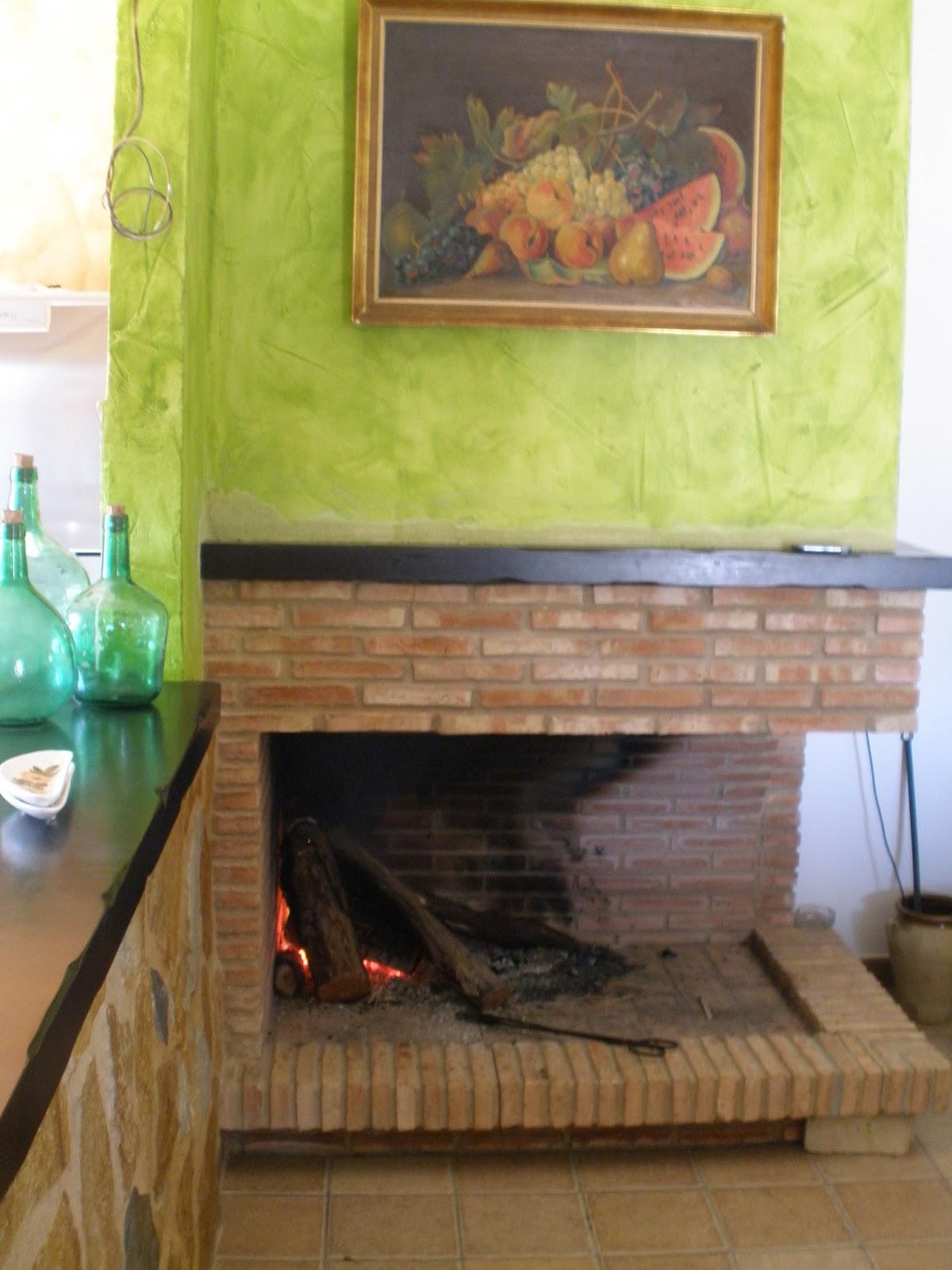 Cocinas rusticas con chimenea finest stunning finest for Cocinas con chimenea