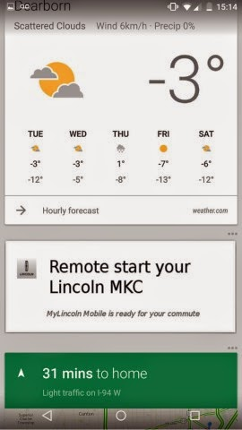 MyLincoln Mobile & Google Now App Offer Seamless Remote Vehicle Capabilities