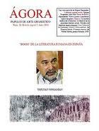 "En ""Ágora"" nº 20 (página 33) Julio 2010"