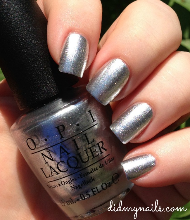 OPI My Signature Is DC swatch