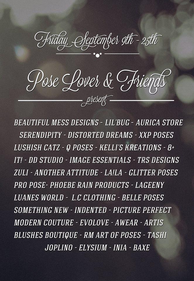 Pose Lover Poster September 2016