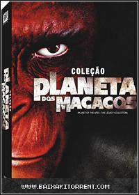 Baixar Filme Coleção Planeta dos Macacos (Planet of the Apes) Dublado - Torrent