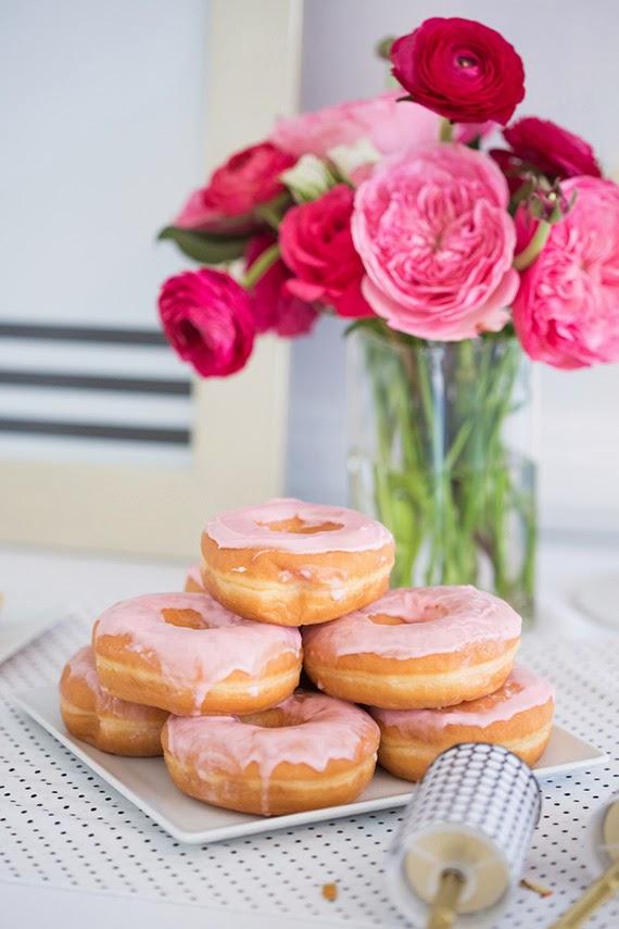 Fiesta de chicas en rosa - mesa personalizada5